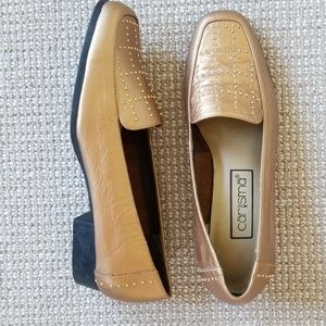 New Carysma leather loafers